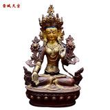 白度母佛像
